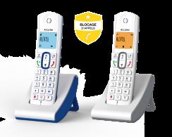 Alcatel F630 AVEC BLOCAGE D'APPELS SIMPLE
