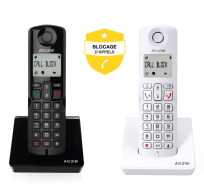 Alcatel S250 - S250 Voice - BLOCAGE D'APPELS SIMPLE