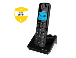 Alcatel S250 with Easy Call-Block function