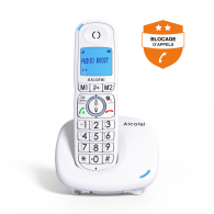 Alcatel XL595 - Blocage d'appels évolué