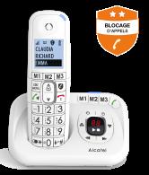 XL785 Répondeur - Blocage d'appels évolué