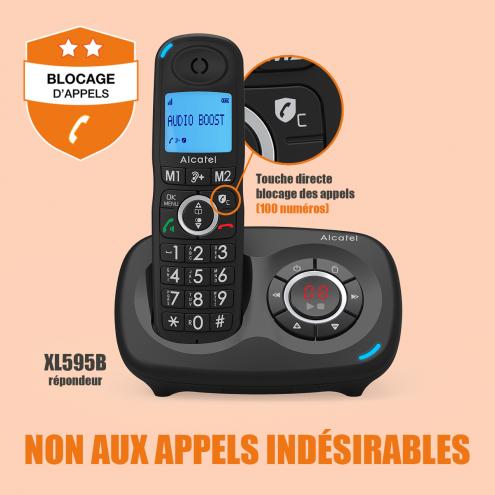 Alcatel XL595B-XL595B Voice-Smart Call Block - Photo 10