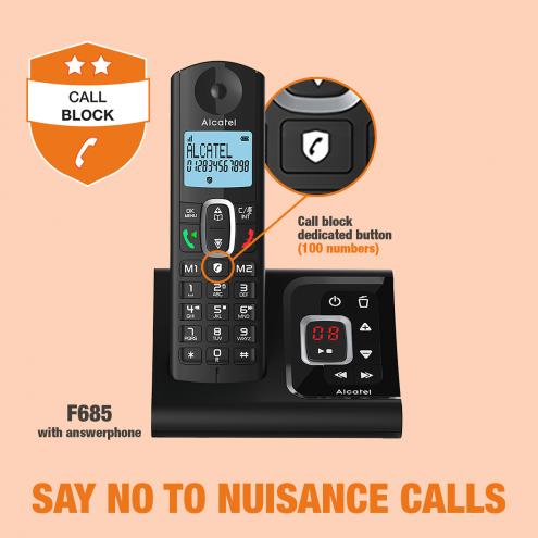 Alcatel F685 Voice-Smart Call Block - Photo 11