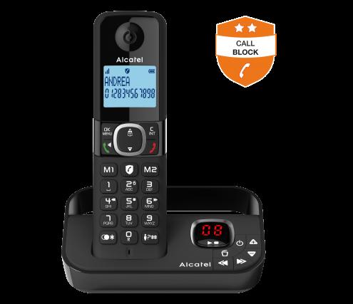 Alcatel F860 with answering machine - Smart Call Block - Photo 2