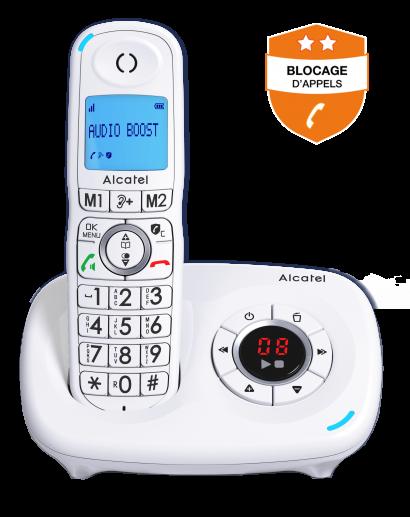 Alcatel XL585 Répondeur - Blocage d'appels évolué - Photo 1