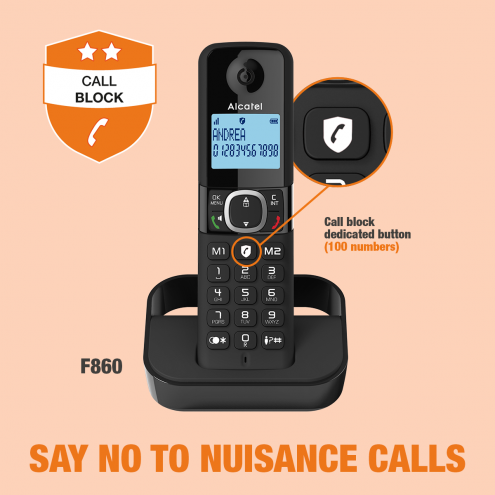 Alcatel F860 - Smart Call Block - Photo 7