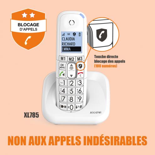 XL785 Répondeur - Blocage d'appels évolué - Photo 12