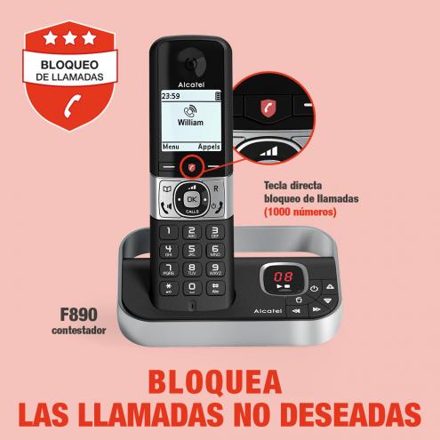 Pro Alcatel F890 Voice con bloqueo de llamadas  - Photo 10