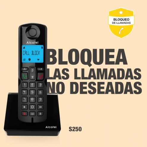 Alcatel S250 con BLOQUEO DE LLAMADAS SIMPLE - Photo 7