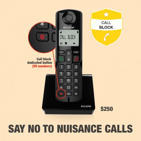 Alcatel S250 - S250 Voice - EINFACHE ANRUFBLOCKIERUNG - Photo 6