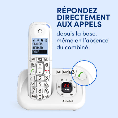 XL785 Répondeur - Blocage d'appels évolué - Photo 13